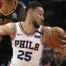 Ben Simmons can't stop 76ers' away woes