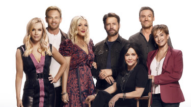 Rebooted but barely a day older: the cast of 90210.