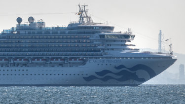 There are concerns for those on the Diamond Princess cruise ship as coronavirus cases mount.