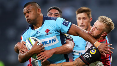 Kurtley Beale won't line up for the Waratahs in Super Rugby AU.