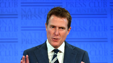 Attorney-General Christian Porter is close to securing support for his union bill.