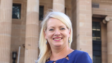 Brisbane's deputy mayor, Krista Adams.