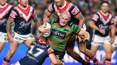 Tied up: Souths have locked Tom Burgess down for another four seasons at Redfern.