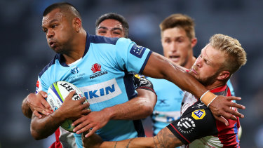 Kurtley Beale and the Waratahs made a disappointing start to the season.