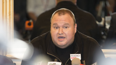 Kim Dotcom faces more than 10 years in a US jail if extradited and found guilty.