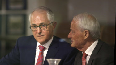 Former prime minister Malcolm Turnbull asked Philip Ruddock to undertake the review last year.