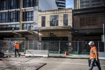 The new pedestrian access point for the Parramatta Powerhouse.