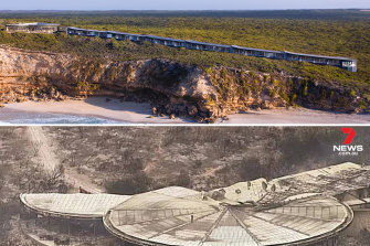 Before and after the flames: the Southern Ocean Lodge luxury holiday accommodation on Kangaroo Island.