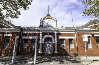 The Sailors and Soldiers Hall on Hoddle Street could form part of the redevelopment.