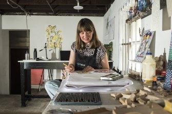 Art Est's Julia Flanagan teaching students online with help from Creative Kids vouchers