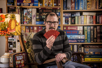 Phil Walker-Harding is one of Australia's leading freelance game designers. More than a million copies of his games have been sold around the world