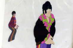 Character from the Beatles movie, The Yellow Submarine – Ringo and John, which Anne worked on.