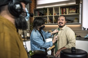 Adam Liaw is running the show for The Cook Up, a series that he would've enjoyed watching.