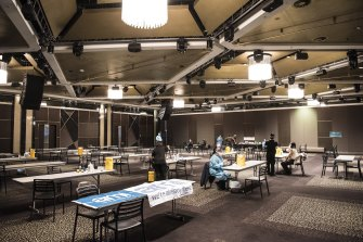 Bankstown Sports Club has offered its 1200sqm Ballroom to be converted into a vaccination clinic servicing the local community.