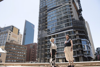 Kathlyn Loseby and Caroline Pidcock have spoken out to defend Sydney's existing buildings from the bulldozer.