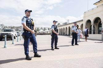 Bondi Beach has been closed to enforce social distancing measures.