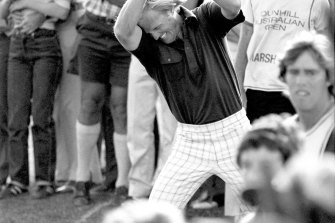Greg Norman inspired Australians to take up golf in the 1980s and '90s