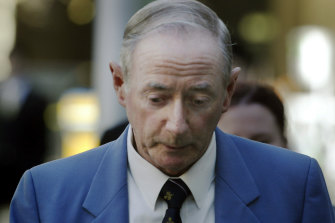 Gerard McNamara outside court after a hearing in 2005.