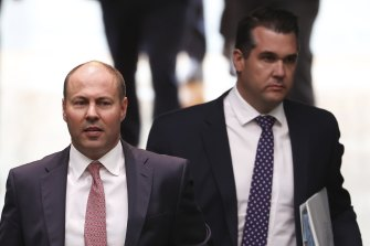 Josh Frydenberg and Michael Sukkar are the two most prominent members of the federal MPs' faction.