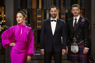 Judges Melissa Leong, Andy Allen and Jock Zonfrillo put out the call for next season's contestants during the MasterChef finale.