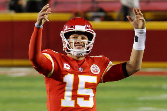 Chiefs quarterback Patrick Mahomes overcame last week's concussion to steer his team into another Super Bowl.