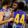 Eagles soar in surges for comeback win over speed Demons at Optus Stadium