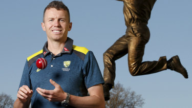 Recall: Peter Siddle is back in the Australian squad.