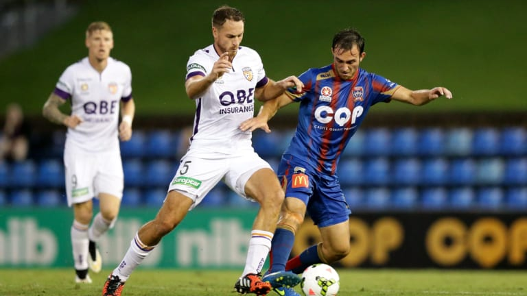 Former Glory player Rostyn Griffiths (left) has signed with Melbourne City.