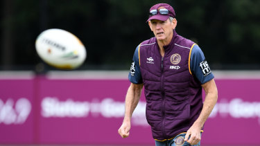 Standing firm: Wayne Bennett could still end up at Souths this season if talks go to plan.