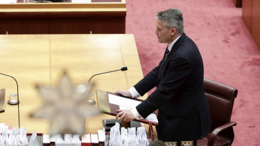 Mathias Cormann is the new public service minister. Last week he gave his first speech since taking over the role.