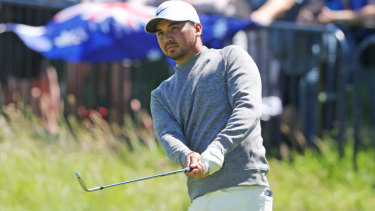 Jason Day is heading home early after a horror second round.