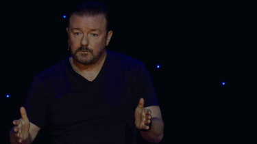 Ricky Gervais has sparked criticism with his new Netflix special.