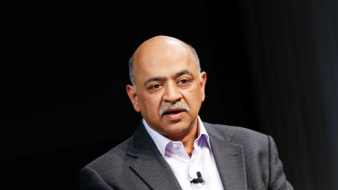IBM chief executive officer Arvind Krishna was the key architect behind IBM's $US34 billion acquisition of cloud company Red Hat last year.