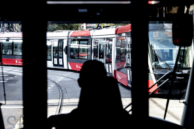 Sydney's light rail drivers are struggling under immense pressure according to the transport union.