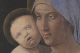 Andrea Mategna's Mother and Child was nominated on Bored Panda's Tumblr Ugly Renaissance Babies.