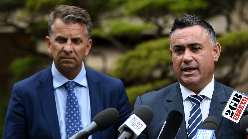 NSW Deputy Premier will not contest Eden-Monaro, paving way for his cabinet colleague
