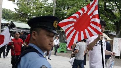 South Korea asks IOC to ban Japan's use of 'Rising Sun' flag