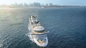 A number of ships, including Sapphire Princess, have been cruising in Singapore.