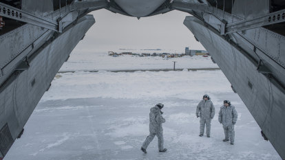 Climate change fuels a very cold war for control of the North Pole