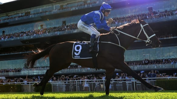 Godolphin galloper reportedly set for Winx Cox Plate challenge