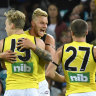 Riewoldt backs Tigers for away upset