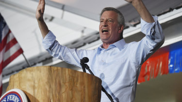 New York City Mayor Bill de Blasio has dropped out of the Democratic presidential race.