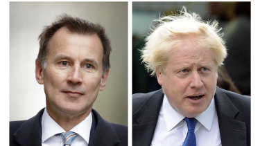 Jeremy Hunt and Boris Johnson have been warned they won't be able to meet their spending promises without an orderly Brexit.