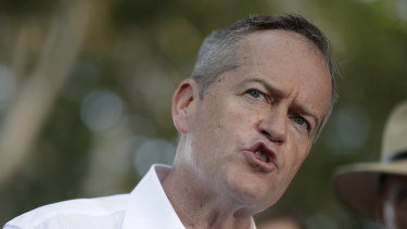 """Bill Shorten  says he will not be """"bullied"""" on Adani."""