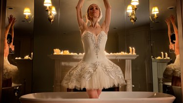 Boston Ballet's Viktorina Kapitonova in Swan Lake Bath Ballet.
