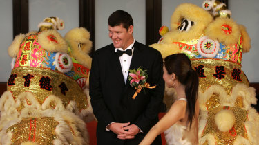 James Packer at the opening ceremony of Crown Macau in 2007.