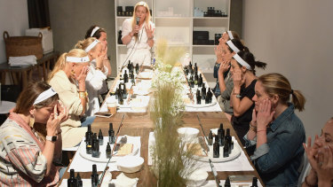 Guests at an In Goop Health wellness summit in California earlier this year.