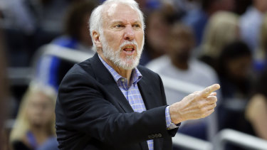 Gregg Popovich will coach the US basketball team at the World Cup.