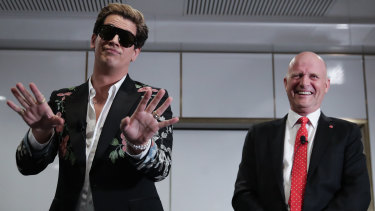 Leyonhjelm invited provocateur Milo Yiannopoulos to speak at Parliament House.