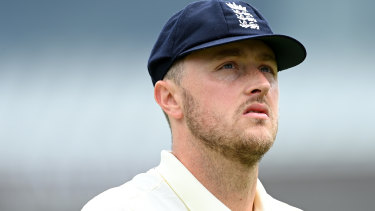 England's Ollie Robinson has apologised for his tweets.